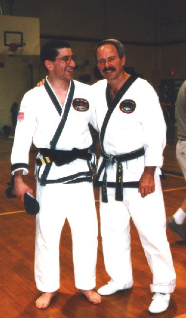 Doug with Master Festa at Promotion Test August 98